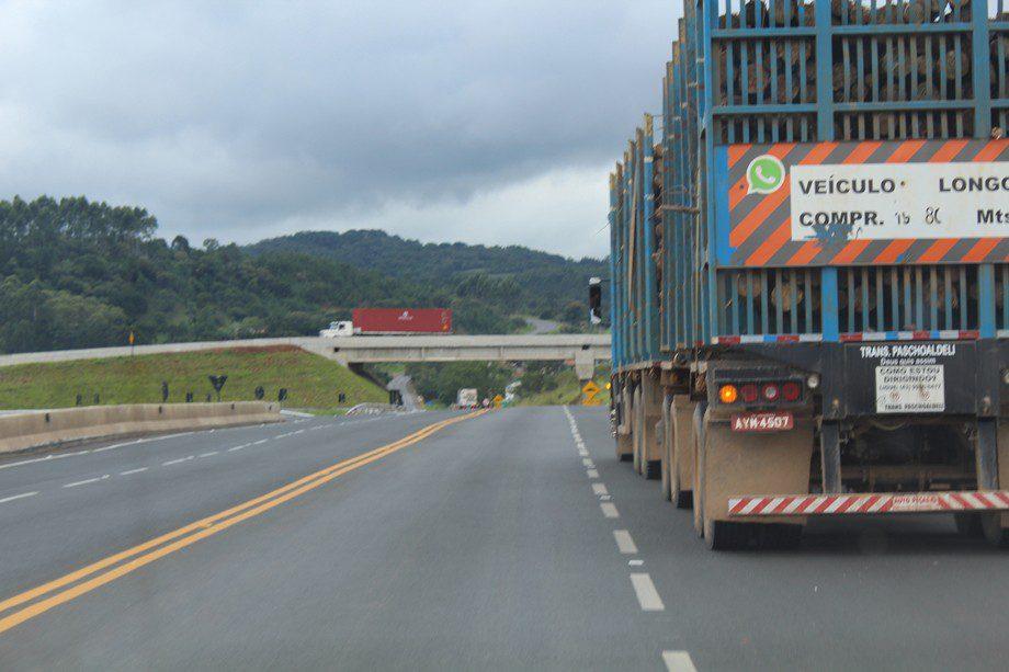Novo viaduto da PR-151 melhora o acesso para Jaguariaíva e Norte Pioneiro. Foto: Jorge Woll/DER