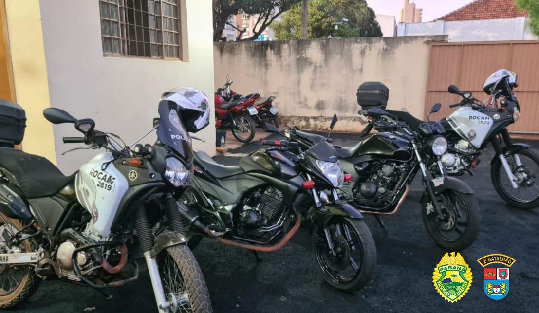 Apreendidas motos em Santo Antônio