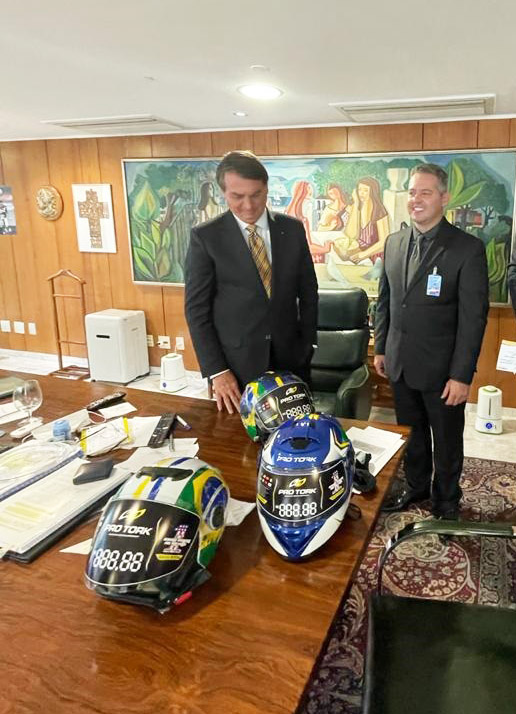 Bolsonaro recebe diretoria da Pro Tork