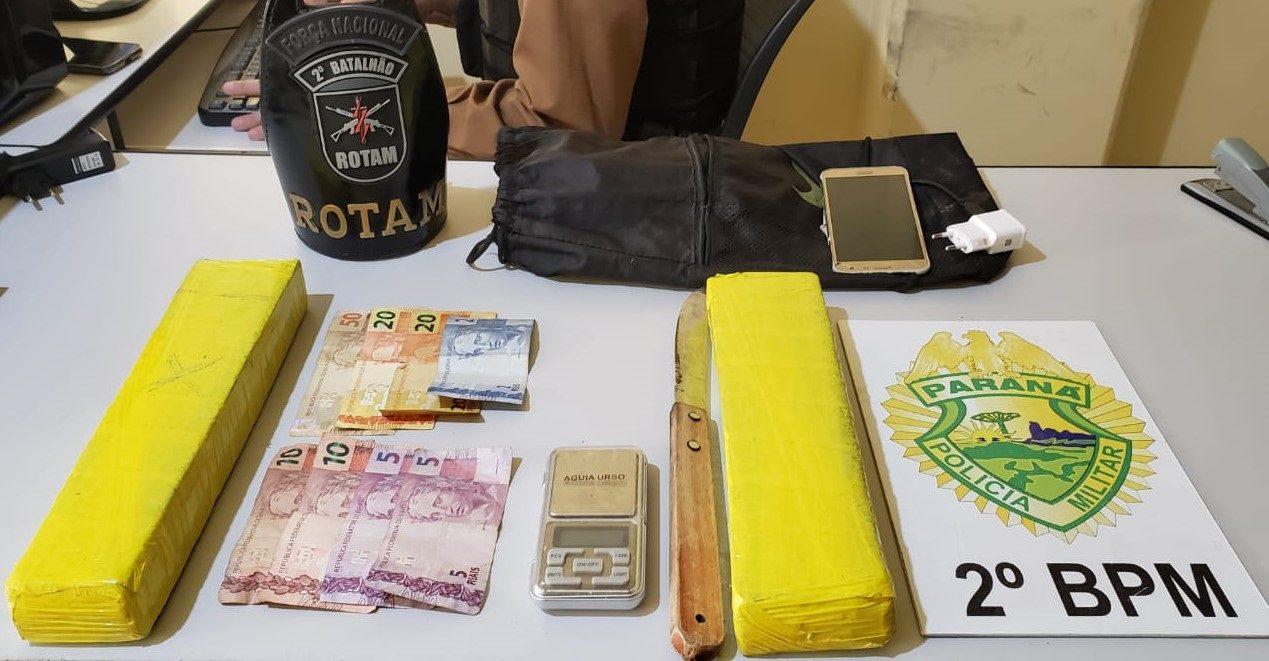 Presos três traficantes em Jacarezinho