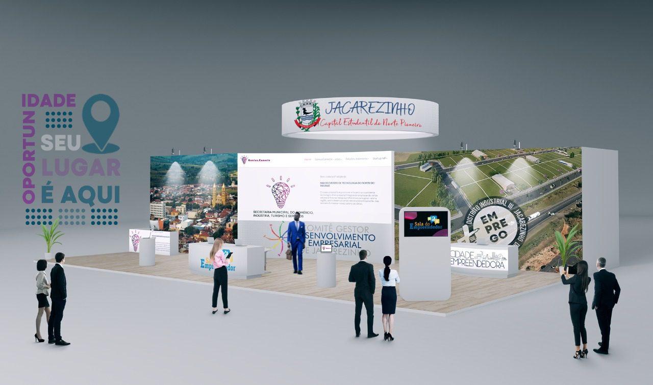 Turismo com estandes virtuais será implantado em Jacarezinho