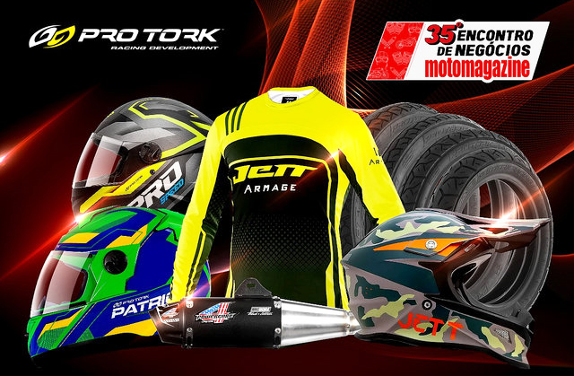 Pro Tork expõe melhores produtos no 35º Encontro Motomagazine